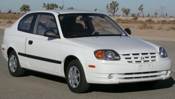 Hyundai Accent - 2 Door
