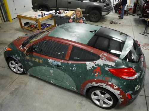 Boba Fett Car