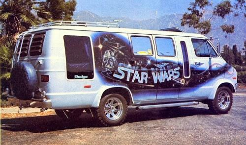Star Wars Themed Van