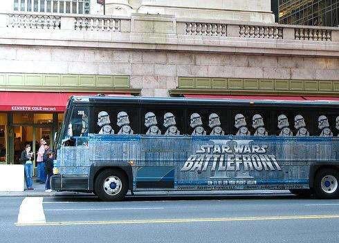 Star Wars Bus
