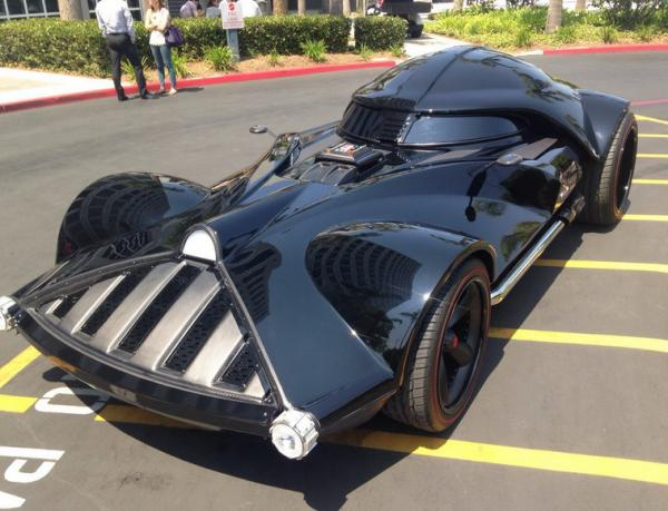 Darth Vader Car Or Batmobile?