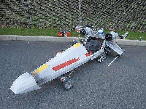 X-Wing Soap Box Car