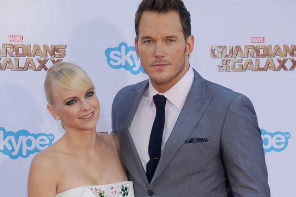 Chris Pratt and Anna Faris