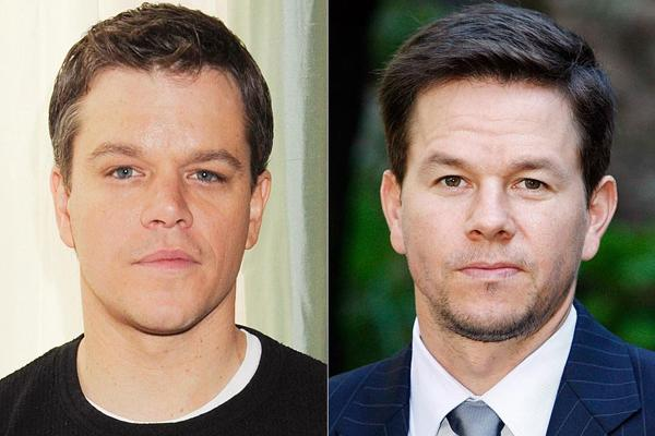 Matt Damon and Mark Wahlberg