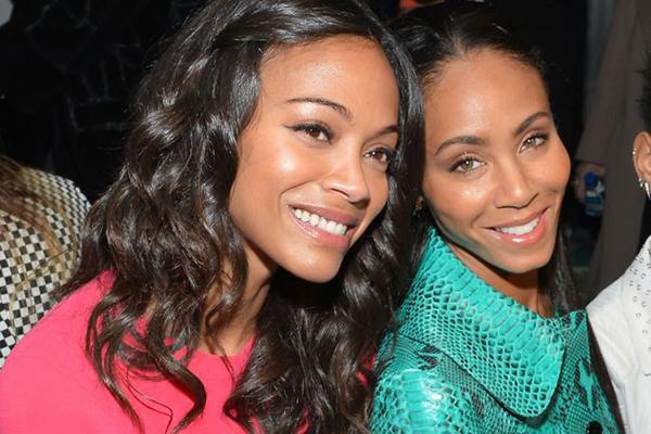 jada pinkett smith and zoe saldana - photo #11