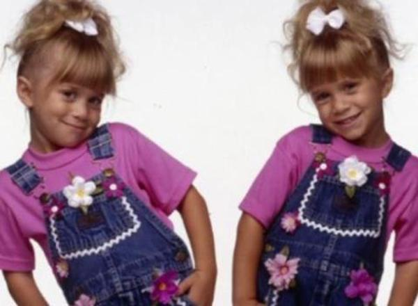 The Olsen Twins then