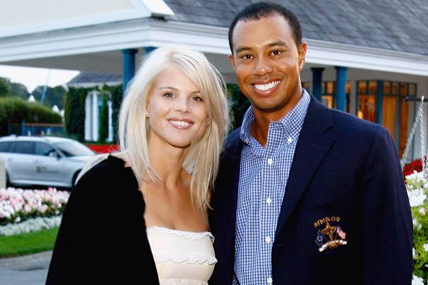 Tiger Woods and Elin Nordgren