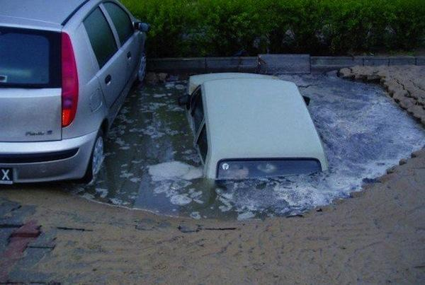 Wrong Parking Space