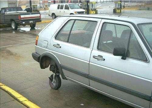 Shopping Cart Spare Tire