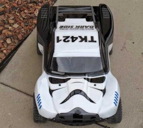Stormtrooper Toy Car